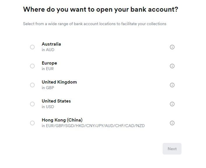 airwallex accounts